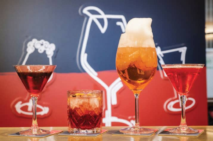 Lavazza Cocktail Campari