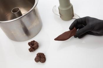 lavorazione in cioccolato
