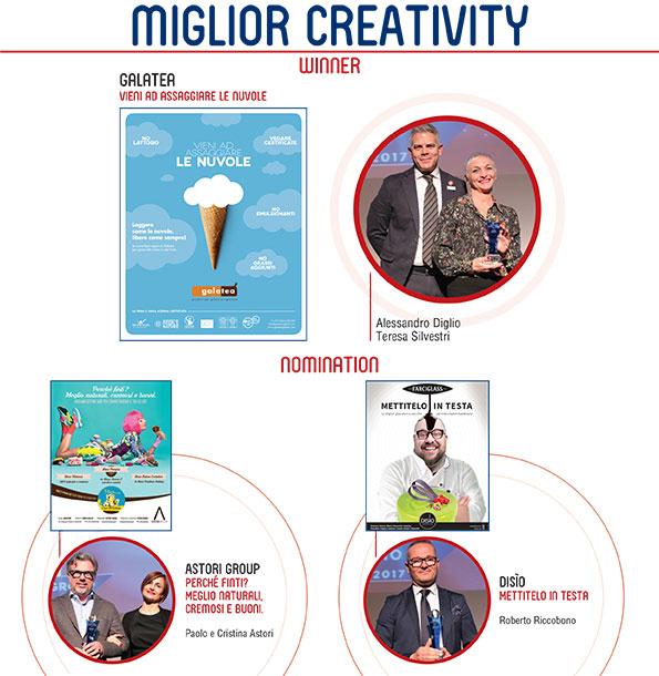premio comunicando 2017 miglior creativity