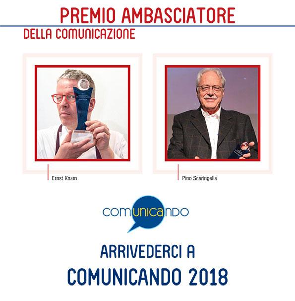 premio comunicando 2017 ambasciatore della comunicazione