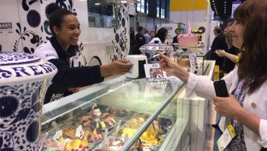 Photo of Fabbri alla fiera di Chicago per raccontare l'Italian-way-of-gelato