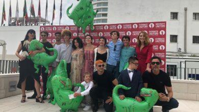 """Photo of Al Gelato Museum al Festival di Venezia – """"Pistacchiosauro"""""""