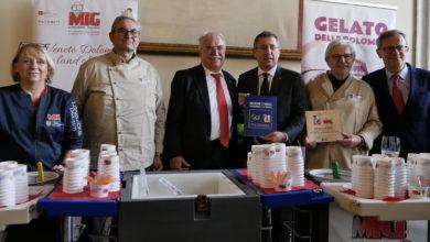 Photo of I gelatieri della MIG alla conferenza stampa di fine anno in Regione Veneto