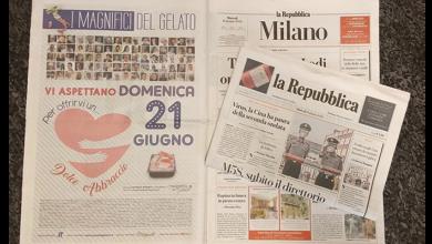 """Photo of I Magnifici del Gelato oggi su """"La Repubblica"""" edizione nazionale!"""