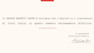 Photo of Caffè Musetti solidale con i baristi e i ristoratori di tutta Italia